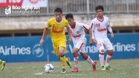 Tường thuật Sông Lam Nghệ An - Hà Nội (Bán kết U19 QG 2018)
