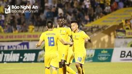Những bàn thắng đẹp của SLNA trận bán kết lượt về Cúp Quốc gia
