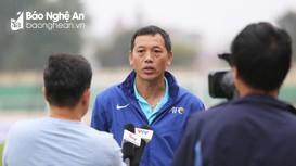 """HLV Nguyễn Đức Thắng (SLNA): """"Quảng Nam là một đối thủ mạnh tại V.League"""""""