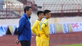 HLV Đức Thắng chia sẻ quyết tâm của SLNA trận gặp B. Bình Dương