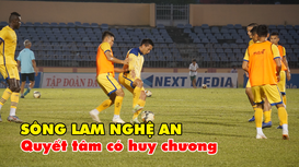 SLNA quyết thắng Quảng Nam, nuôi hy vọng giành huy chương tại V.League 2019