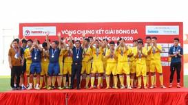 Xác định 12 đội bóng tham dự VCK U19 Quốc gia 2021