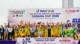 Giải Bóng đá Thiếu niên toàn quốc 2021: 40 đội bóng tranh chức vô địch