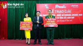 Nhà vô địch Giải Nghệ An Running Awards 2020 lập kỷ lục chạy gần 2.000 km