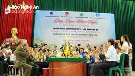 Tuổi trẻ Nghệ An vun đắp tình đoàn kết hữu nghị Việt - Lào