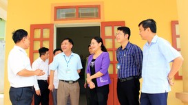 Kiểm tra công tác chuẩn bị bầu cử tại huyện Nghi Lộc