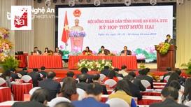 Những điểm nhấn ngày đầu tiên kỳ họp thứ 12, HĐND tỉnh khóa XVII