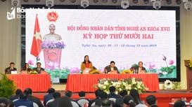Ý kiến bên lề kỳ họp thứ 12, HĐND tỉnh khóa XVII