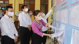 Không khí chuẩn bị bầu cử sớm ở huyện miền núi Con Cuông