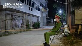Phong tỏa khu vực nhà ở của ca nhiễm Covid-19 thứ 2 tại thành phố Vinh