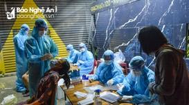 Thông báo của Thường trực Tỉnh ủy Nghệ An về công tác phòng chống dịch Covid-19