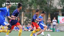 Highlight: TN TP Vinh (xanh) - TN Nam Đàn (tím) 1-1