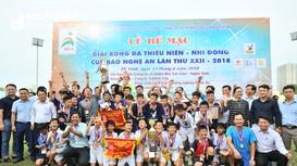 Highlight: Trận chung kết giữa TN Yên Thành và TN Quỳnh Lưu (1-0)