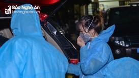 CDC Nghệ An khẩn cấp cử đoàn công tác về Yên Thành điều tra, lấy mẫu các trường hợp F2