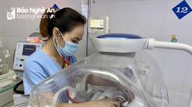 Bệnh viện Sản Nhi Nghệ An: Cứu sống trẻ sinh non chỉ nặng 600 gram