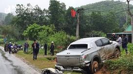 Người đàn ông tử vong sau cú va chạm với xe bán tải