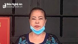 Công an Đô Lương bắt 'bà trùm' tín dụng đen cho vay lãi suất lên đến 150%/tháng