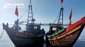 Bắt 2 tàu cá vi phạm quy định vùng khai thác
