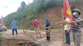 Huyện vùng cao Nghệ An tập trung khắc phục hậu quả mưa lũ