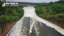 Xả tràn hồ chứa Sông Sào và hồ chứa thủy điện Chi Khê