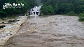 Toàn cảnh mưa lũ ở Nghệ An