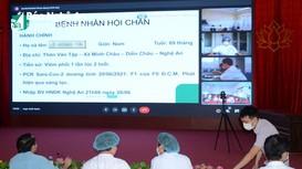 Phó Chủ tịch UBND tỉnh, Giám đốc Sở Y tế tham gia hội chẩn điều trị bệnh nhân Covid-19