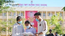 Thành công lớn nhất của kỳ thi tốt nghiệp THPT tại Nghệ An là an toàn sức khỏe cho thí sinh