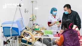 Nghệ An: Bệnh nhân đột quỵ, viêm phổi tăng do rét đậm rét hại