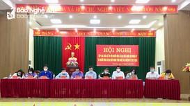Ứng viên đại biểu Quốc hội và Hội đồng nhân dân tỉnh tiếp xúc cử tri tại thị xã Thái Hòa