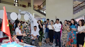 Nhiều hoạt động ý nghĩa nhân ngày Hội Sách và Văn hóa đọc tại Nghệ An