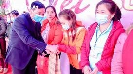 LĐLĐ huyện Yên Thành tổ chức 'Tết sum vầy' cho công nhân lao động