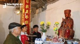 Chiêm ngưỡng hệ thống tượng quý ở di tích Quốc gia đặc biệt Đình Hoành Sơn