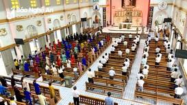 Nhiều cơ sở tôn giáo thực hiện nghiêm các biện pháp phòng dịch