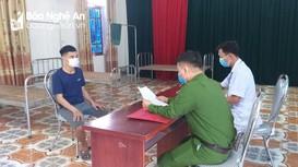 Nghệ An: Trốn khỏi khu cách ly, thanh niên bị phạt 5 triệu đồng