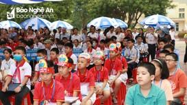Gần 300 học sinh Nghệ An tham gia cuộc thi Toán tuổi thơ