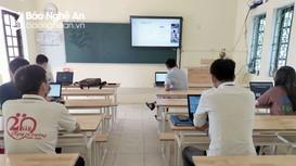 Xây dựng phương án dạy học cho học sinh thị xã Hoàng Mai trong thời gian tạm dừng đến trường