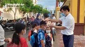 Gần 80% học sinh của Nghệ An đã đi học trở lại