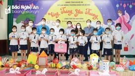 Sở Giáo dục và Đào tạo tặng quà và vui Tết Trung thu với Làng trẻ em SOS Vinh