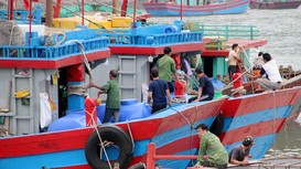 Thành lập Chi bộ Hội nghề cá đầu tiên trên biển ở Nghệ An