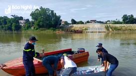 Tìm thấy thi thể người phụ nữ nhảy cầu ở Đô Lương