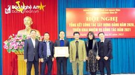 Văn phòng Tỉnh ủy triển khai nhiệm vụ năm 2021