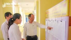 Kiểm tra công tác chuẩn bị bầu cử ở Yên Thành