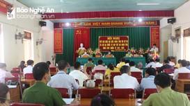 Đại biểu HĐND tỉnh khóa XVIII tiếp xúc cử tri ở Con Cuông trước kỳ họp thứ 2