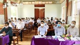 Sinh hoạt chi bộ mẫu theo quy định mới tại thị xã Hoàng Mai