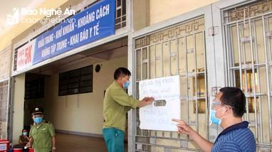 TP. Vinh tăng cường các biện pháp phòng, chống dịch tại các khu chợ