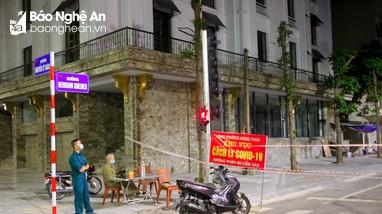 Phong tỏa 850 hộ dân của 5 khối phường Hưng Phúc, TP Vinh