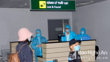 Sân bay Vinh sẵn sàng đón công dân Nghệ An từ vùng dịch trở về