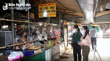 TP Vinh: Chợ Quang Trung chính thức hoạt động trở lại từ hôm nay (17/9)
