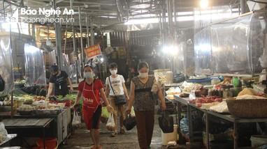 TP Vinh: Chợ được phép kinh doanh tất cả các mặt hàng, trừ ăn uống tại chợ