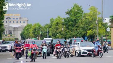 Thành phố Vinh nhộn nhịp trở lại khi thực hiện Chỉ thị 19